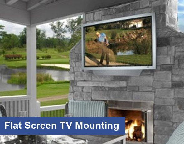 Flat Screen TV Mounting